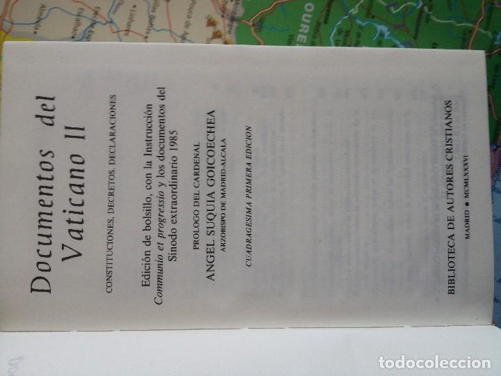 Libros: VATICANO II Documentos - Foto 2 - 129133467
