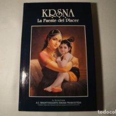 Libros: KRISNA- LA FUENTE DEL PLACER. VOLÚMEN I. NUEVO. 1994. Lote 133052822