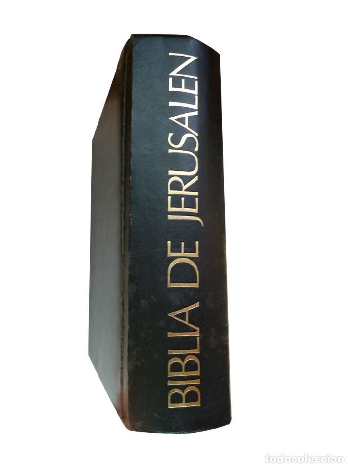 Libros: Biblia de Jerusalén Ilustrada DESCLEE DE BROUWER, 1969 Edición Española - Foto 2 - 139513738