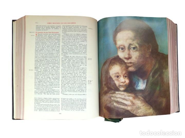 Libros: Biblia de Jerusalén Ilustrada DESCLEE DE BROUWER, 1969 Edición Española - Foto 4 - 139513738