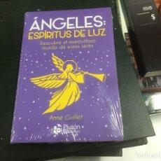 Libros: ÁNGELES: ESPÍRITUS DE LUZ. DESCUBRE EL MARAVILLOSO MUNDO DE ESTOS SERES. ANNE GUILLET. Lote 140468754