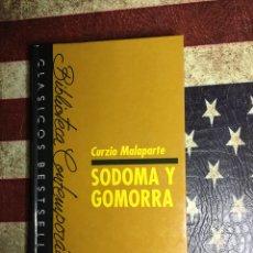 Libros: SODOMA Y GOMORRA. Lote 140619846