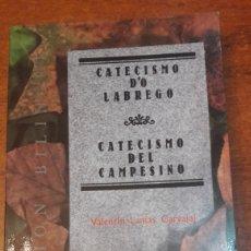 Libros: GALICIA CATECISMO DO LABREGO VALENTIN LAMAS 1990. Lote 141527194