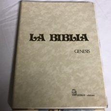 Libros: LIBRO LA BIBLIA. PARA ENCUADERNAR. Lote 142418406