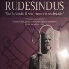 Libros: LIBRO RUDESINDUS. Lote 145831522
