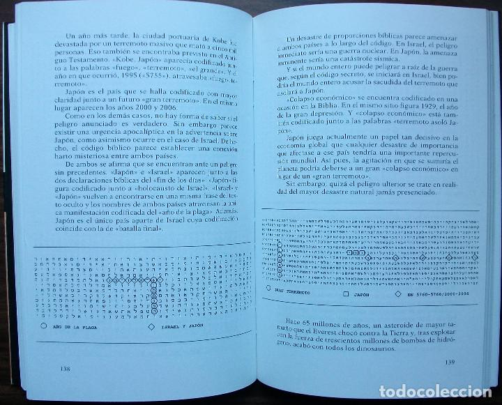 Libros: EL CODIGO SECRETO DE LA BIBLIA. MICHAEL DROSNIN. - Foto 3 - 147558542