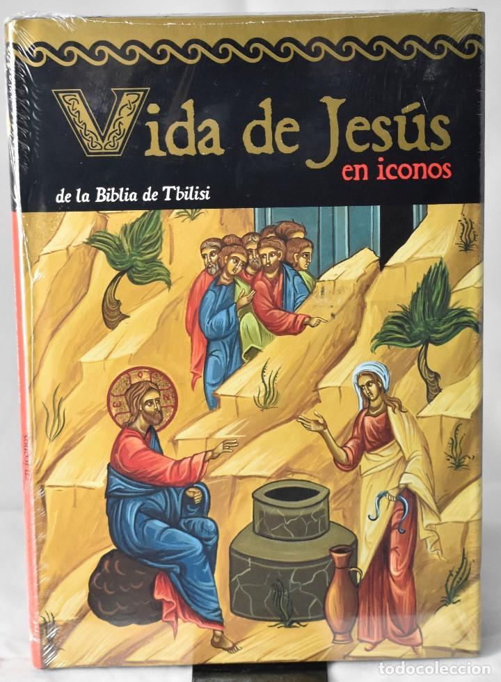 VIDA DE JESÚS EN ICONOS DE LA BIBLIA DE TBILISI. ARTE (Libros Nuevos - Humanidades - Religión)