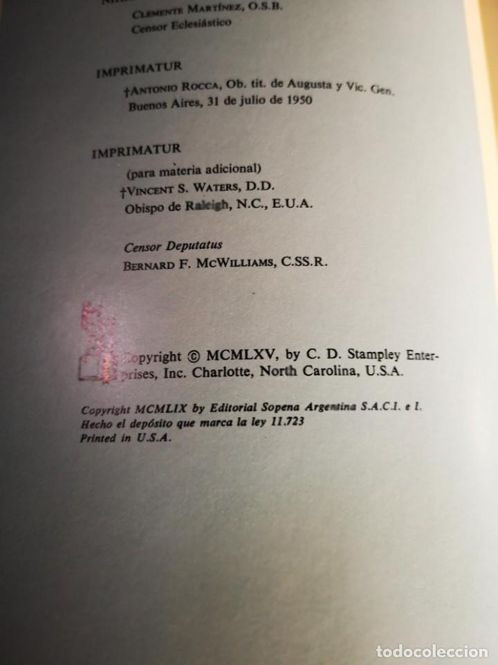 Libros: LA SAGRADA BIBLIA LUJOSA TRADUCIDA DE LA VULGATA LATINA AL ESPAÑOL 1959-65 - Foto 4 - 149649530