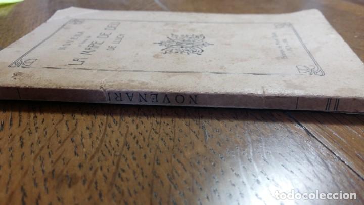 Libros: Novena a honra de la Mare de Deu de Lluch.Composta del P. Miquel Roselló. Mallorca, 1916 - Foto 2 - 153382058