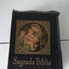 Libros: SAGRADA BIBLIA. Lote 154803688