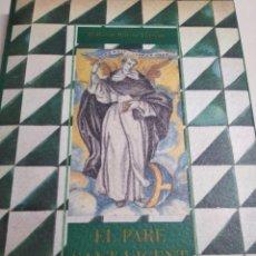 Libros: EL PARE SANT VICENT. Lote 157714478