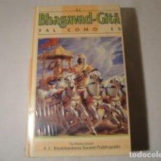 Bücher - El Ghagavad Gita, tal como es. La joya espiritual de la India. NUEVO. - 157964030