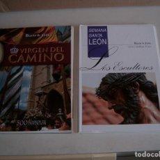 Libros: LOTE SEMANA SANTA DE LEON Y VIRGEN DEL CAMINO. Lote 158118230