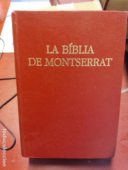 BJS.LA BIBLIA DE MONTSERRAT.EDT,CASAL I VALL.BRUMART TU LIBRERIA. (Libros Nuevos - Humanidades - Religión)