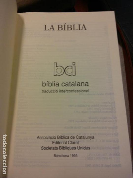 STQ.LA BIBLIA.EDT, CLARET.BRUMART TU LIBRERIA. (Libros Nuevos - Humanidades - Religión)