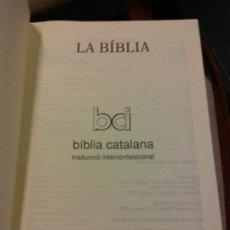 Libros: STQ.LA BIBLIA.EDT, CLARET.BRUMART TU LIBRERIA.. Lote 159602706