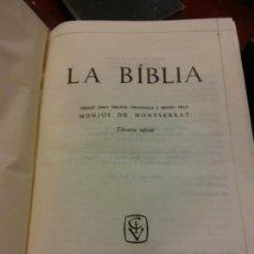 Libros: BJS.LA BIBLIA.EDT, CASAL I VALL.BRUMART TU LIBRERIA.. Lote 159604194
