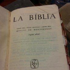 Libros: BJS.LA BIBLIA.EDT, CASAL I VALL.BRUMART TU LIBRERIA.. Lote 159604666