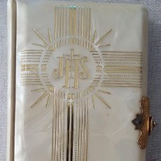 Libros: LIBRO PRIMERA COMUNION + ROSARIO. Lote 159675314