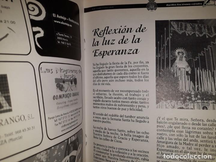 Libros: REVISTA ENTRE VARALES 2008 CIEZA MURCIA HERMANDAD COFRADÍA GRACIA ESPERANZA HIJOS MARÍA SEMANA SANTA - Foto 4 - 161548478