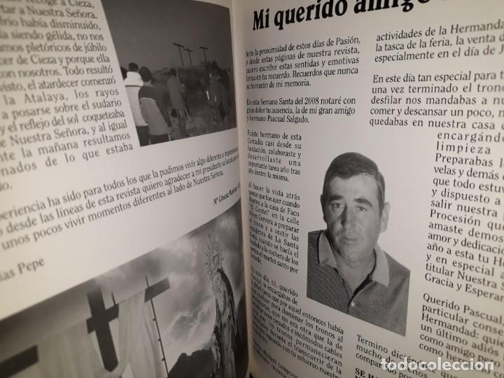 Libros: REVISTA ENTRE VARALES 2008 CIEZA MURCIA HERMANDAD COFRADÍA GRACIA ESPERANZA HIJOS MARÍA SEMANA SANTA - Foto 7 - 161548478