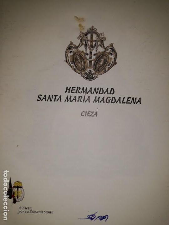 Libros: VÍA CRUCIS 2007 PROCESIÓN CRISTO SANGRE CIEZA MURCIA HERMANDAD COFRADÍA MARÍA MAGDALENA SEMANA SANTA - Foto 3 - 161549030