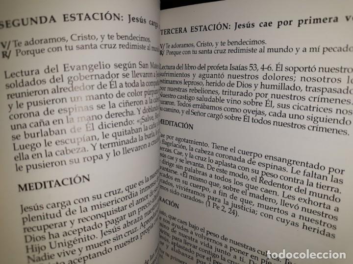 Libros: VÍA CRUCIS 2007 PROCESIÓN CRISTO SANGRE CIEZA MURCIA HERMANDAD COFRADÍA MARÍA MAGDALENA SEMANA SANTA - Foto 4 - 161549030