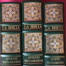 Libros: LA BIBLIA. TRES TOMOS. Lote 162462988