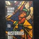 Libros: HISTORIAS DEL BUEN DIOS - RAINER MARIA RILKE. Lote 162646070