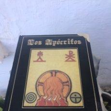 Libros: LOS APÓCRIFOS Y OTROS LIBROS PROHIBIDOS. Lote 167056550