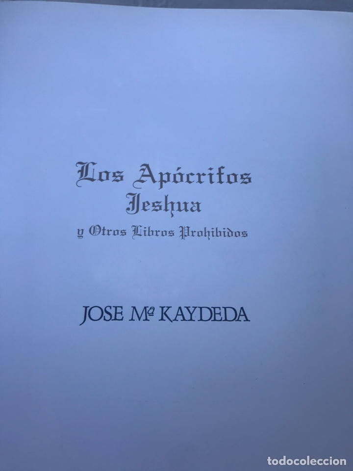 Libros: Los Apócrifos y otros libros prohibidos - Foto 4 - 167056550