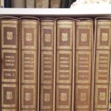 Libros: BIBLIA POLIGLOTA COMPLUTENSE FACSIMIL ALCALÁ DE HENARES IMPRENTA BROCAR UNIVERSIDAD DE ALCALÁ. Lote 167965744