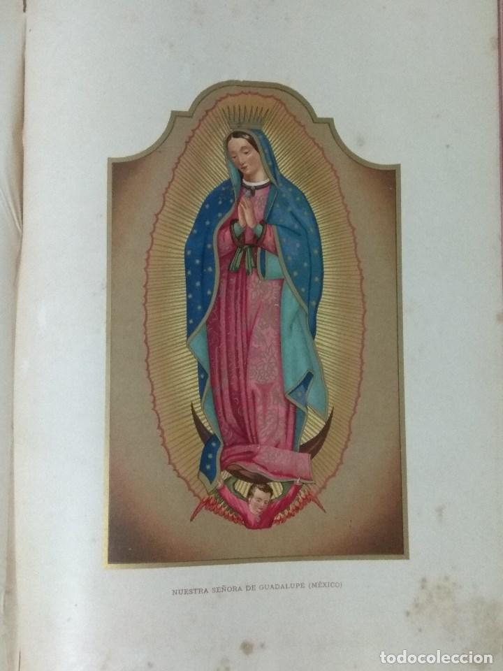 Libros: VIDA DE LA VIRGEN MARIA - En dos tomos que miden 36 x 28 cm - Foto 4 - 168631328
