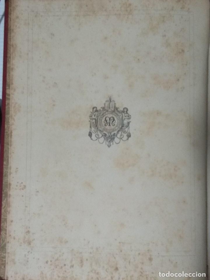 Libros: VIDA DE LA VIRGEN MARIA - En dos tomos que miden 36 x 28 cm - Foto 5 - 168631328