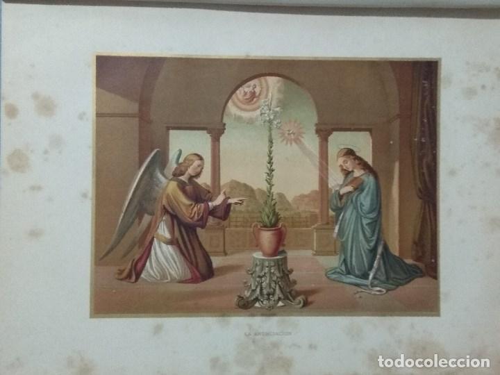 Libros: VIDA DE LA VIRGEN MARIA - En dos tomos que miden 36 x 28 cm - Foto 9 - 168631328