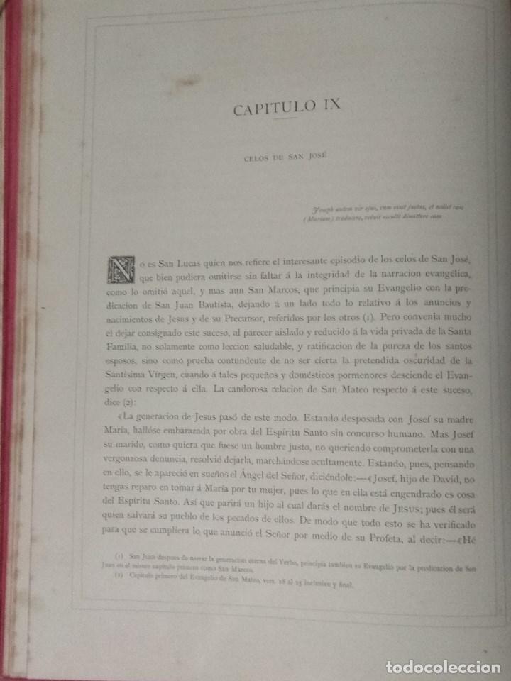 Libros: VIDA DE LA VIRGEN MARIA - En dos tomos que miden 36 x 28 cm - Foto 10 - 168631328