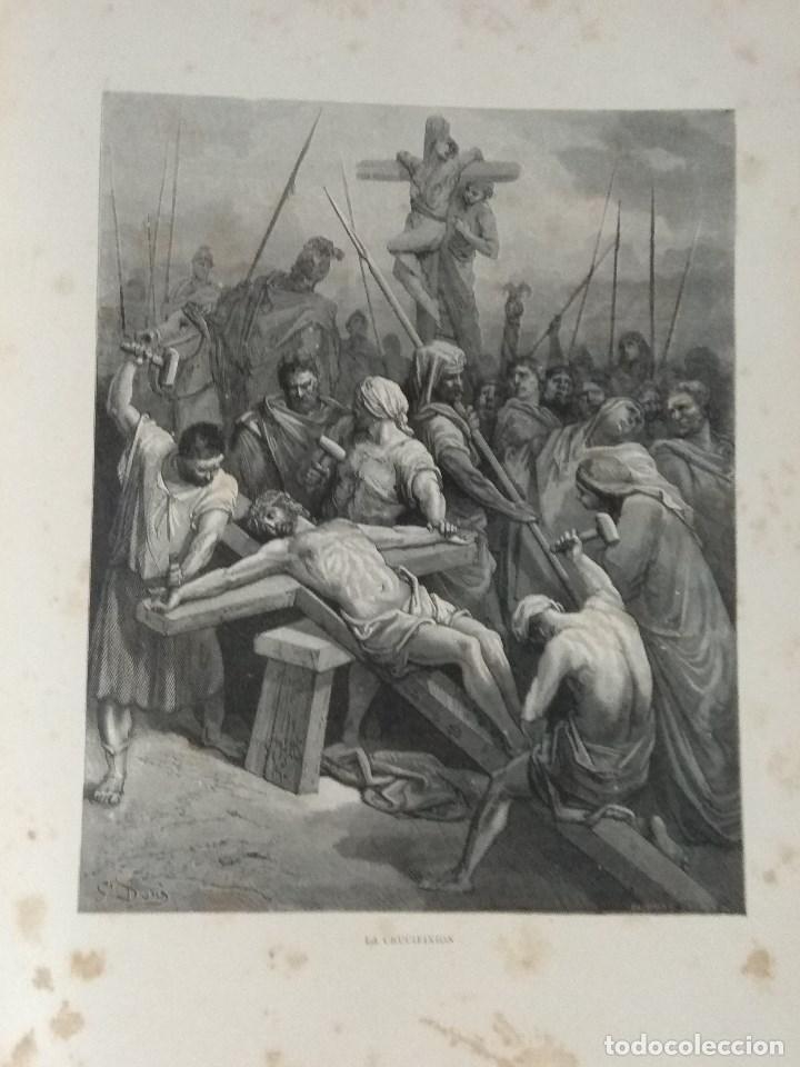 Libros: VIDA DE LA VIRGEN MARIA - En dos tomos que miden 36 x 28 cm - Foto 15 - 168631328