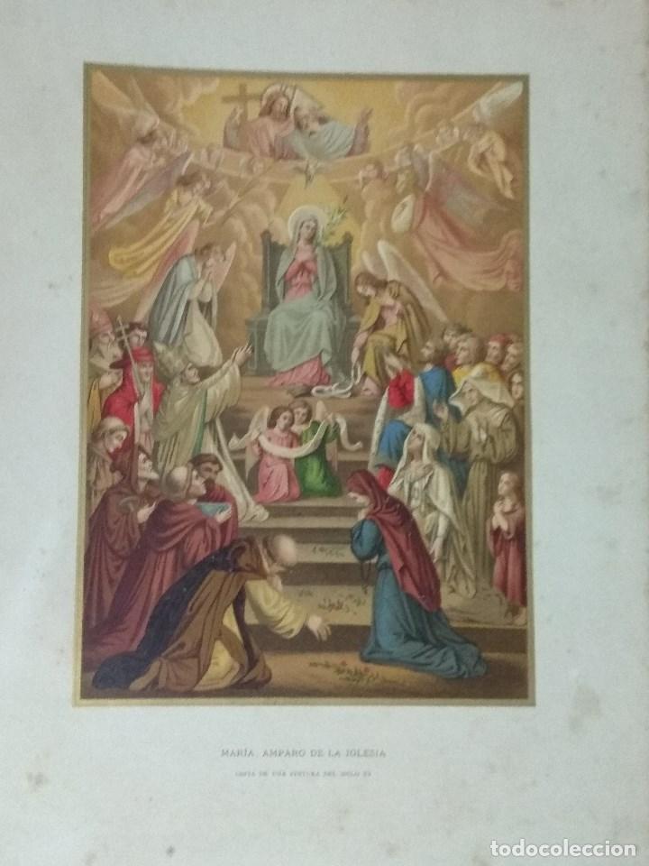 Libros: VIDA DE LA VIRGEN MARIA - En dos tomos que miden 36 x 28 cm - Foto 17 - 168631328
