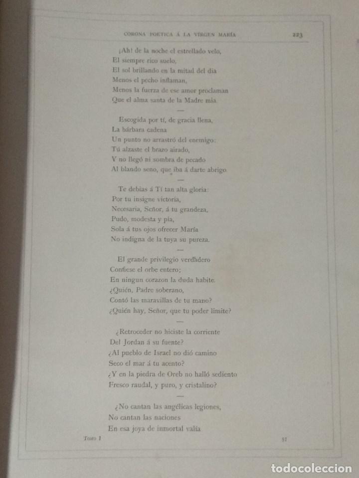Libros: VIDA DE LA VIRGEN MARIA - En dos tomos que miden 36 x 28 cm - Foto 18 - 168631328