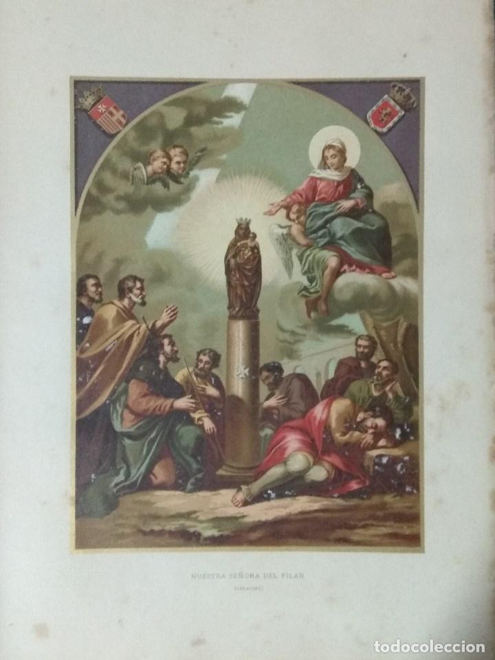 Libros: VIDA DE LA VIRGEN MARIA - En dos tomos que miden 36 x 28 cm - Foto 22 - 168631328