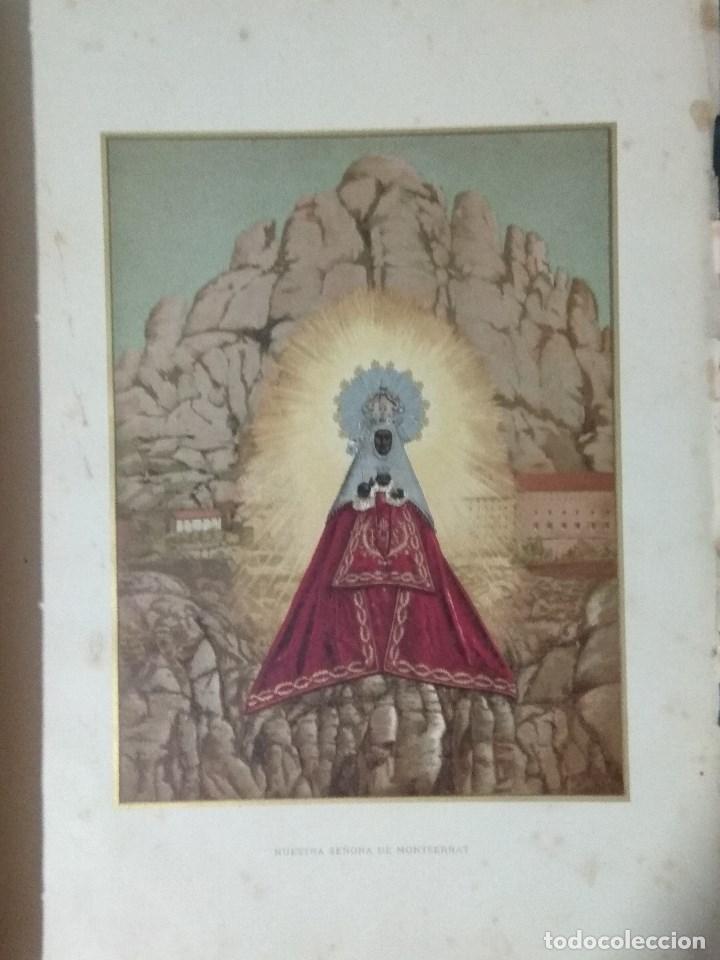Libros: VIDA DE LA VIRGEN MARIA - En dos tomos que miden 36 x 28 cm - Foto 25 - 168631328