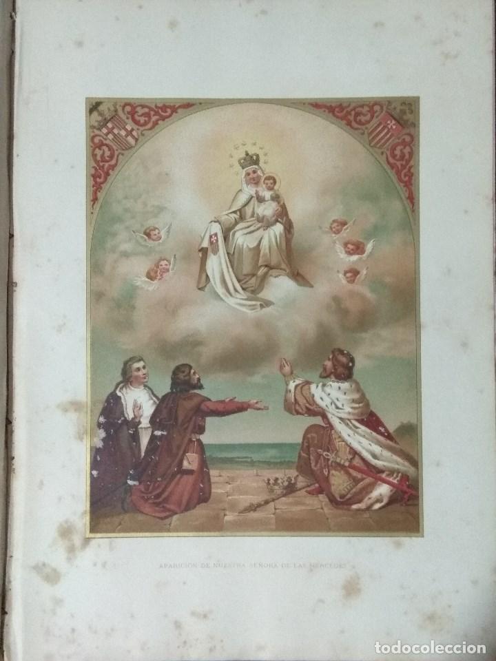 Libros: VIDA DE LA VIRGEN MARIA - En dos tomos que miden 36 x 28 cm - Foto 27 - 168631328