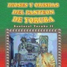 Libros: DIOSES Y ORISHAS DEL PANTEON DE YORUBA. Lote 170162120