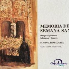 Libros: MEMORIA DE LA SEMANA SANTA. NUEVO SIN USAR. REF: AX54. Lote 170457496