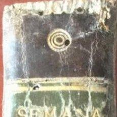 Libros: OFICIO DE LA SEMANA SANTA. AÑO 1790. REF: AX33. Lote 170512864