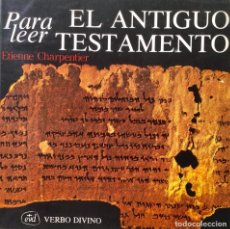 Libros: PARA LEER. EL. ANTIGUO TESTAMENTO. NUEVO. REF: AX101. Lote 171025307