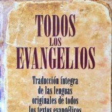 Libros: TODOS LOS EVANGELIOS. NUEVO. REF: AX125.. Lote 171173423