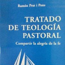 Libros: TRATADO DE TEOLOGÍA PASTORAL. NUEVO. REF. AX130. Lote 171315880