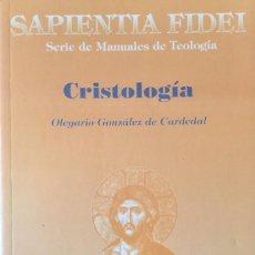 Libros: CRISTOLOGÍA. NUEVO. REF: AX135. Lote 171323135