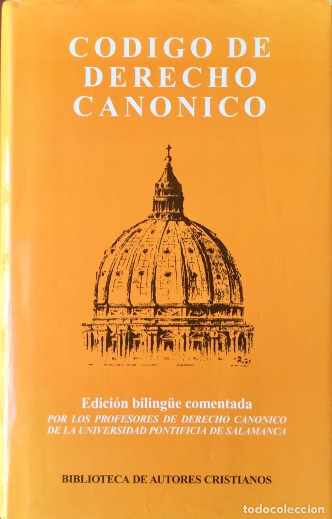CÓDIGO DE DERECHO CANÓNICO. NUEVO. REF: AX138 (Libros Nuevos - Humanidades - Religión)